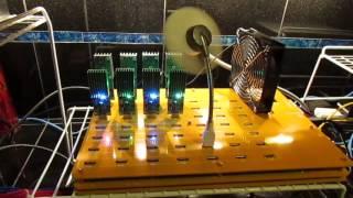 Working USB Bitcoin Farm with Raspberry Pi running Minera