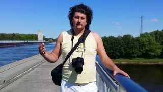 Магдебургский водный мост (Kanalbrücke Magdeburg) 2014(Магдебургский водный мост — водный мост в Германии, соединяющий два важных канала: Канал Эльба-Хафель и..., 2014-05-07T21:27:37.000Z)