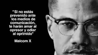 Frase de Malcolm X sobre la libertad de expresión