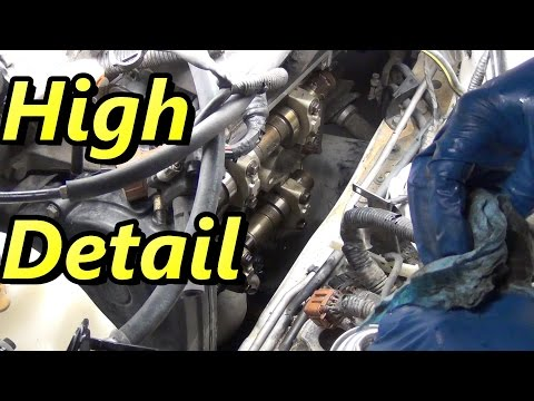 How To Subaru Valve Cover Gasket Replacement part 1
