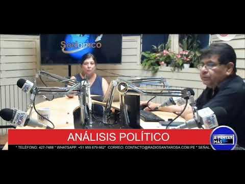 RMP da introducción a entrevista con Pedro Salinas y Paola Ugaz - Radio Santa Rosa - 07-02-19