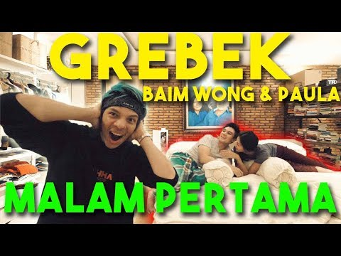 GREBEK MALAM PERTAMA!! BAIM WONG & PAULA.. #AttaGrebekRumah