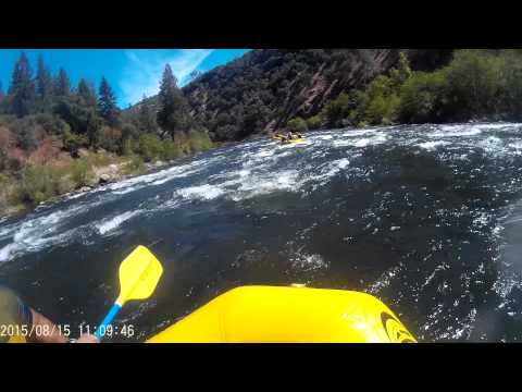 Whitewater Rafting (Unedited) American River Part 2