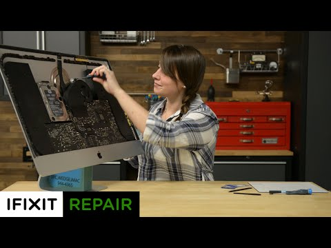 "How To Replace the Fan in a 27"" iMac (Late 2012)"