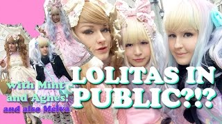 Wearing Lolita in public! Thumbnail