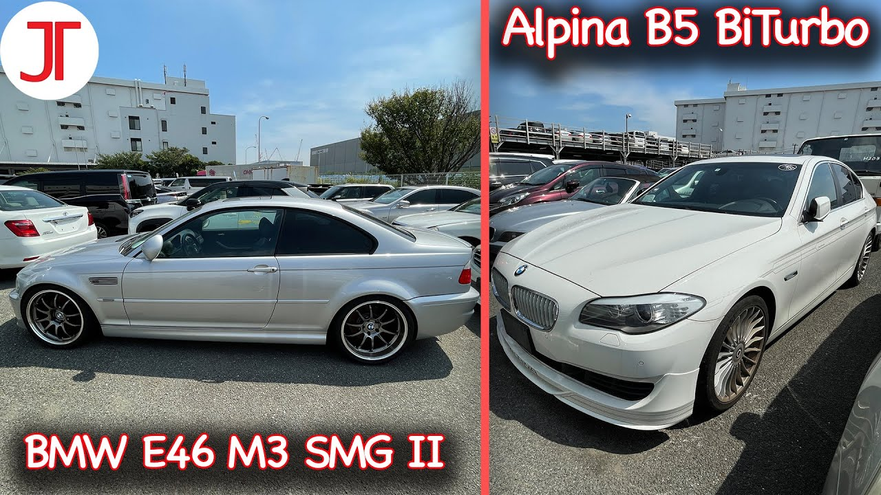 Müşterilerimizin Araçları; BMW M3 SMG II, ALPINA B5, CL550, S550 | Japonic Trade