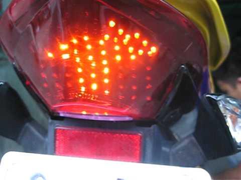 Nouvo Lx : Full  Led  đèn sau +xinhan lamborghini