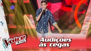 Gabriel Ciríaco canta 'O Tempo não Para' na Audição – 'The Voice Kids Brasil' | 3ª Temporada