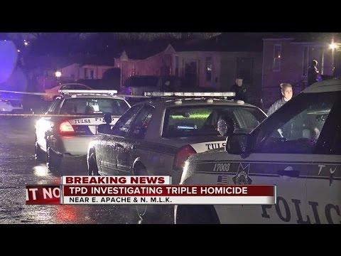 Tulsa Police investigate triple homicide in North Tulsa