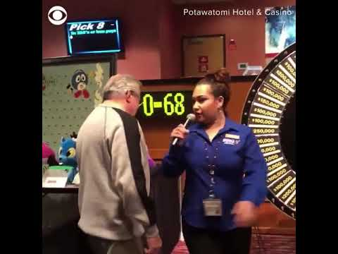 Michael Berry - Man Wins One Million Bucks On The Spin Of A Wheel