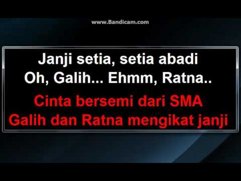 D'Cinnamons - Galih dan Ratna (Karaoke)
