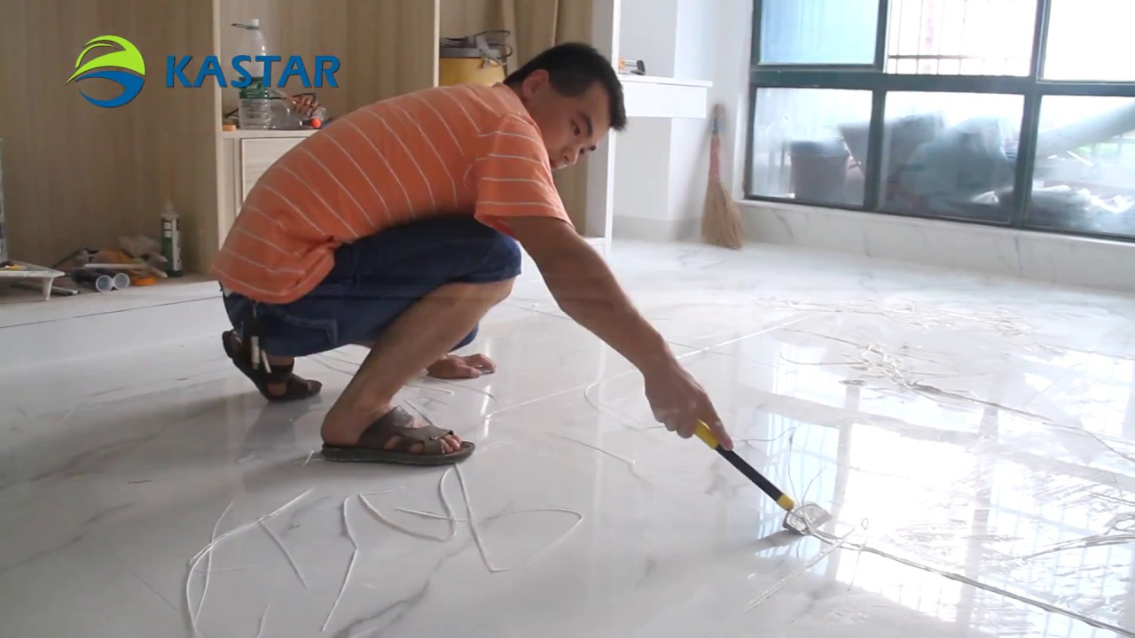 Kastar ceramic tile sealer field construction video