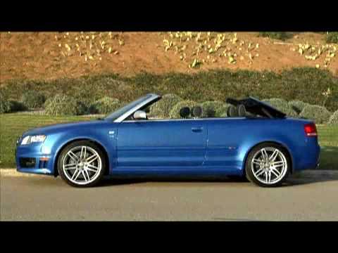 2008 audi rs4 cabriolet review youtube. Black Bedroom Furniture Sets. Home Design Ideas
