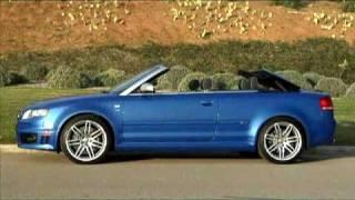 Audi RS4 Cabriolet Videos