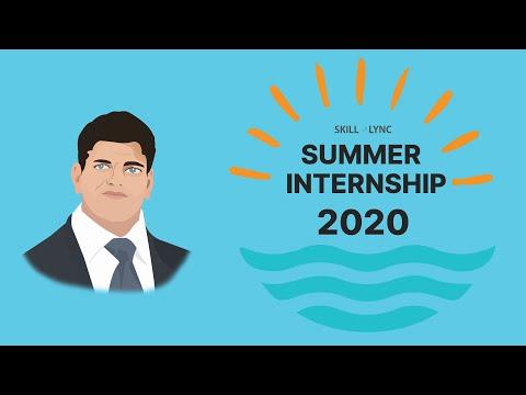 Summer Internship 2020   Skill-Lync