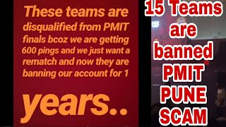 PMIT Pune Scam | 15 Teams Banned For 1 Year? | Rip, Entity, ORB, Team Hydra | Mortal In PMIT Pune