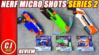 Nerf Micro Shots Series 2 | 2018 Unboxing and Review Jolt Re-skin SWAG