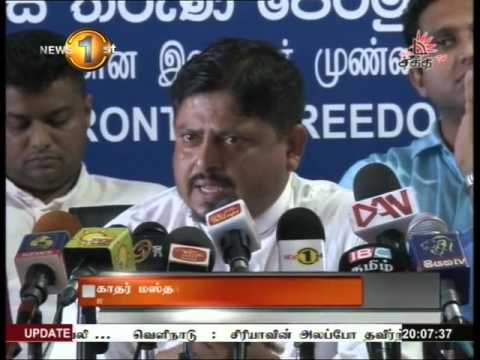 News1st prime Time News Shakthi tv 30th April 2016