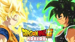 Sono JUST AGAINST BROLY! - Roblox Dragon Ball - Stand finale
