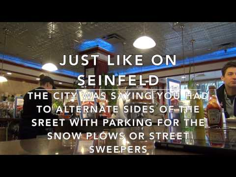Visiting the Seinfeld Restaurant and Eating NYC Tom's Manhattan Blizzard