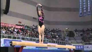 Lauren MITCHELL, BB Final Live, FIG World Cup, Zibo CHINA 2012