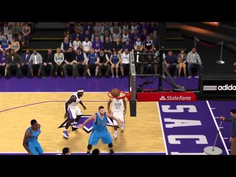 NBA 2K15 DIFFERENT CAMERA ANGLE