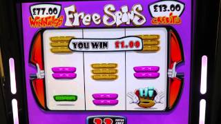 Barcrest High 5 £500 Jackpot Gaming Machine (Free Spins feature)