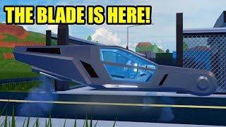 NEW BLADE VEHICLE and HELI LIGHTS ARE HERE! | Roblox Jailbreak