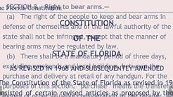 Palatka Fl, Open Carry Incident - Guilty Untill Proven Innocent (feature)