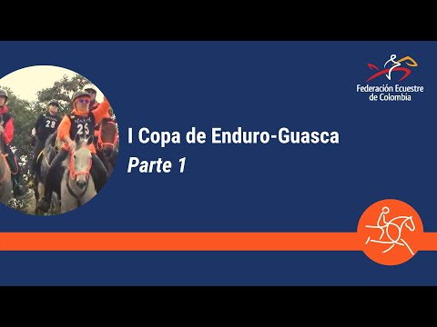Primera competencia de Enduro Ecuestre.