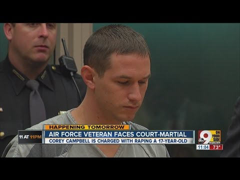 Corey Campbell: Court-martial Trial Of Air Force Veteran Charged With Rape To Begin Monday