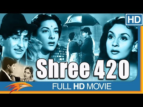 Shree 420 (1955 film) Hindi Full Length Movie || Raj Kapoor, Nargis || Bollywood Old Classic Movies