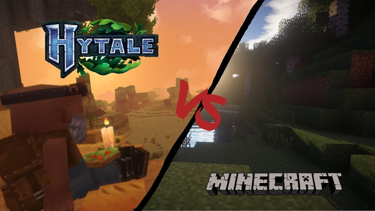Hytale VS Minecraft | Direct Comparison | Graphics
