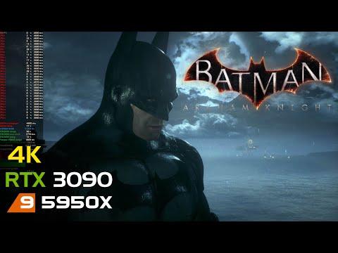 Batman: Arkham Knight   4K   RTX 3090   5950X   Unlocked FPS  