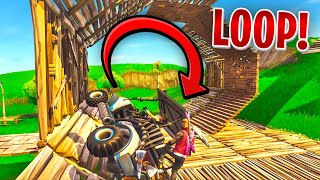 *FIRST EVER* GOLF KART LOOP in FORTNITE w/ Lachlan