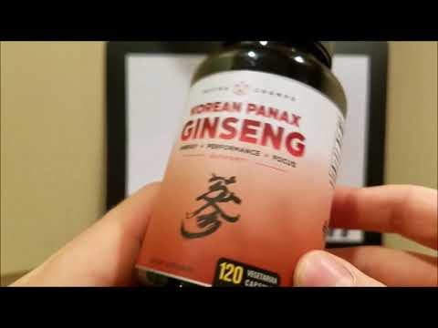 NutraChamps Korean Red Panax Ginseng 1000mg Review 📥 Unboxing  📤