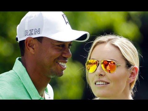 Tiger Woods On Lindsey Vonn Foundation Board