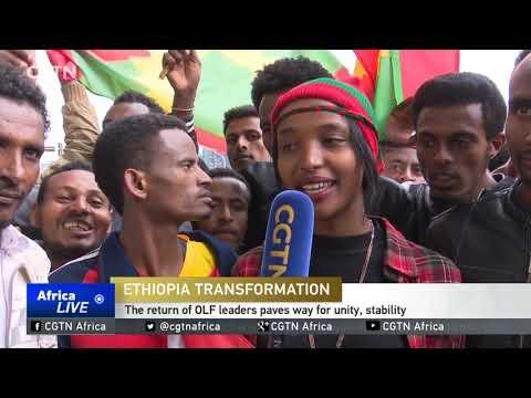 Ethiopian citizens react to transformation