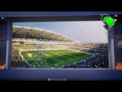 Le stade Arena das Dunas à Natal