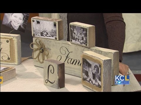 KCL - How to make Photo Blocks & Holders for holiday gifts