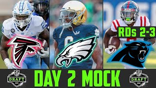 2021 NFL Mock Draft Rounds 2 & 3 | Day 2 NFL Mock Draft 2021