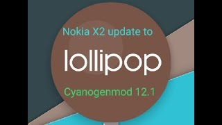 Nokia X2 update To Lollipop ROM TWRP Flashed Tamil