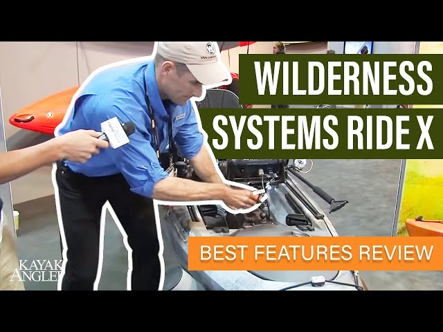 Wilderness Systems Ride X 🎣 Fishing Kayak 📈 Specs & Features Review and Walk-Around 🏆