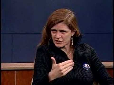 Conversations With History: Samantha Power