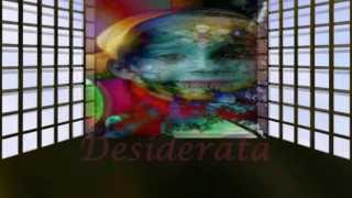 Les Crane ♥♫Desiderata by Max Ehrmann♫♥ Lyrics on Screen