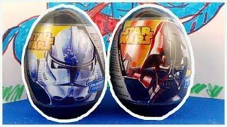 Star Wars Surprise Eggs Opening Darth Vader Stormtrooper #182
