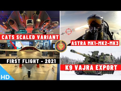 Indian Defence Updates : CATS Warrior 1st Flight,K9 Export,U