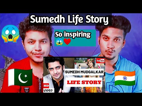 Pakistani reacts to Sumedh Mudgalkar Life Story | Lifestyle | Dab Reaction