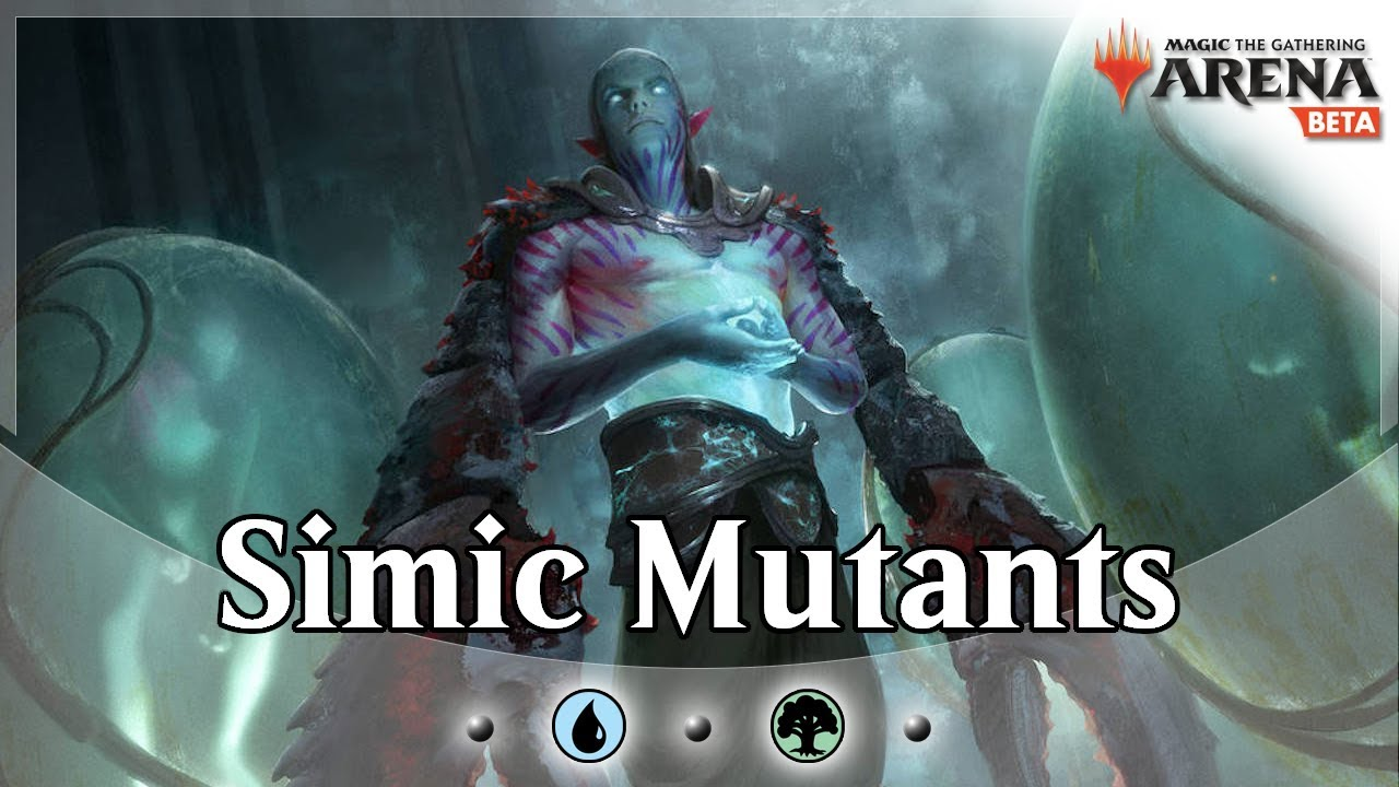Simic Mutant Midrange - MTG Arena Ravnica Allegiance Deck Guide & Gameplay