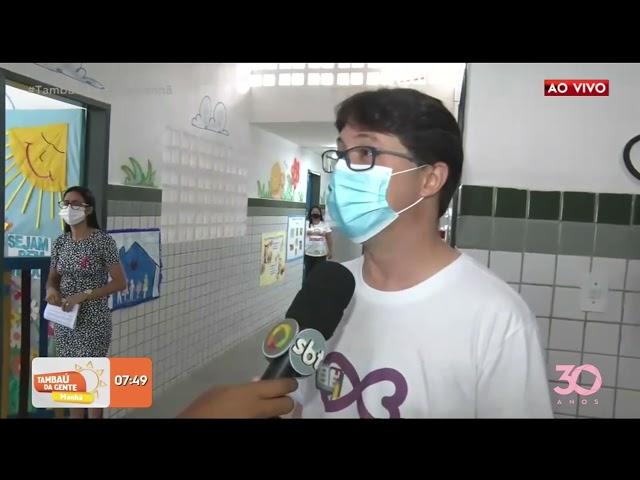 Sec. de Saúde da Paraíba realiza inquérito sorológico nas escolas do Estado  -Tambaú da Gente Manhã